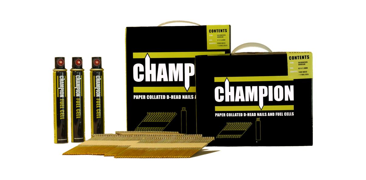 Collated Nails 1st Fix Champion Galv 90mm X 3 1 Paslode